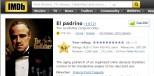 imdb el padrino, lista mejores peliculas