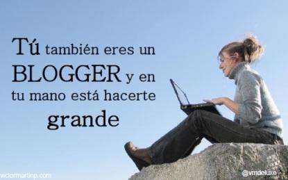 #Cursobloggers Ponencia de Vuctor Martin @cmdeluxe