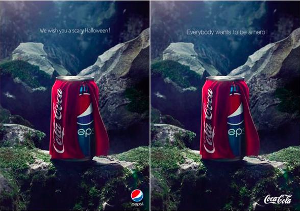 guerra de marcas pepsi vs cocacola