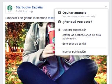 interacciones anuncio facebook