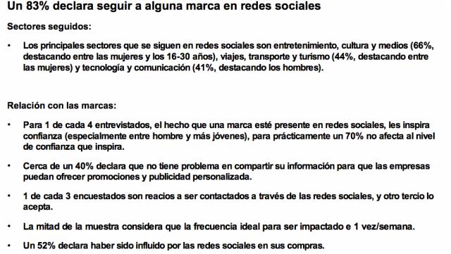 Conclusiones estudio redes sociales iab 2017